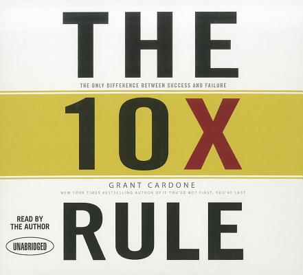 [CD] The 10x Rule By Cardone, Grant